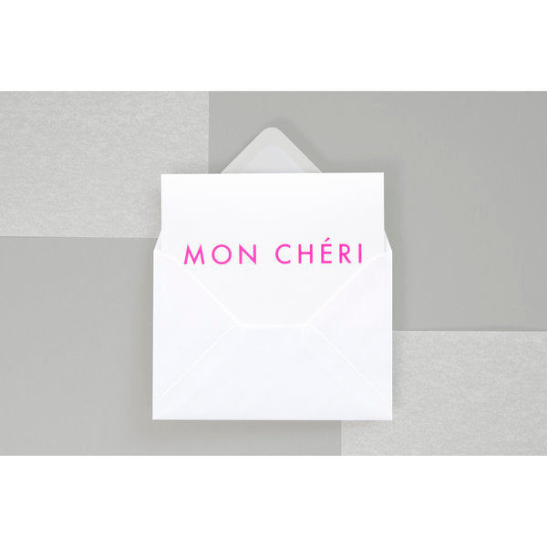 Mon Cheri Card in Pink by ola