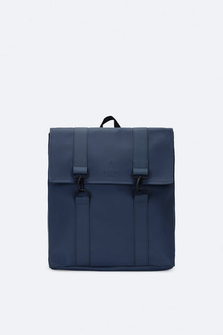 Msn Backpack Bag - Dark Blue by Rains