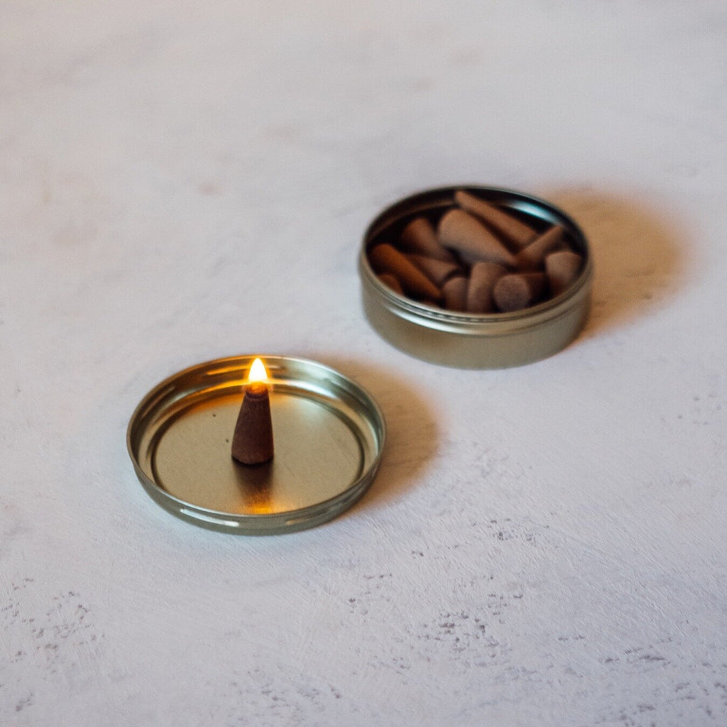 Incense cones | Aestas | Rose Wood Vanilla | by Essence + Alchemy