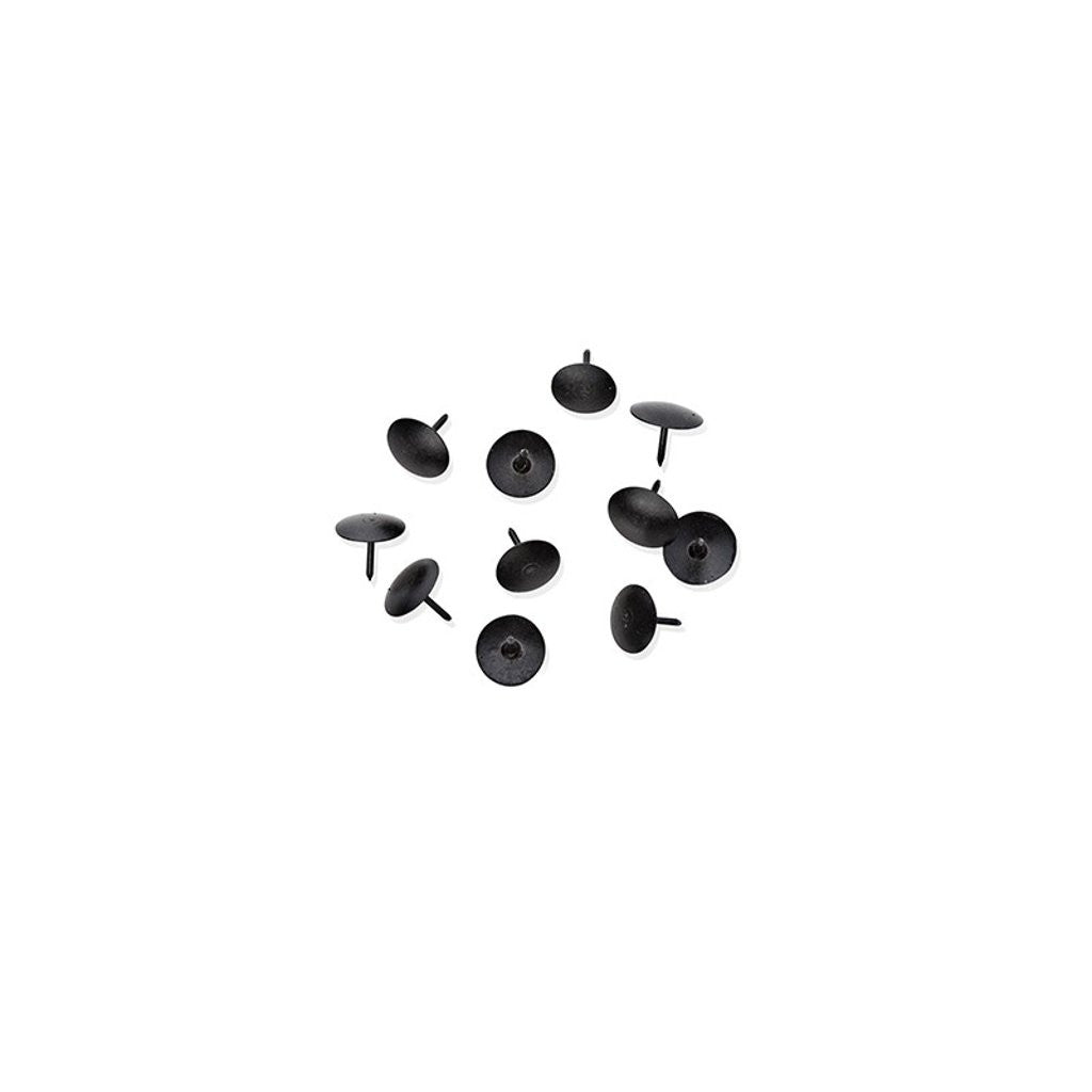 Black thumbtacks by Nomess