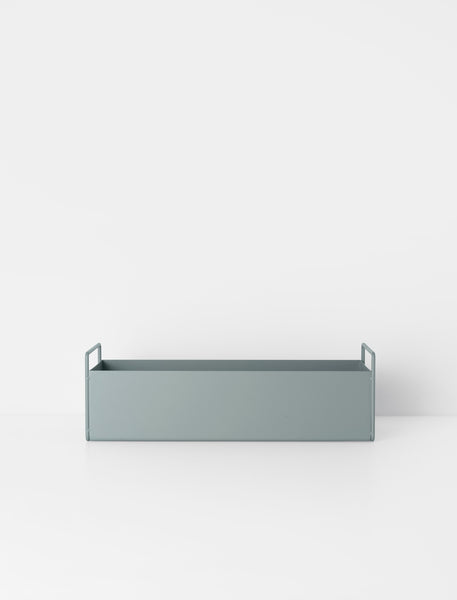 Plant Box Dusty Blue Small by ferm Living