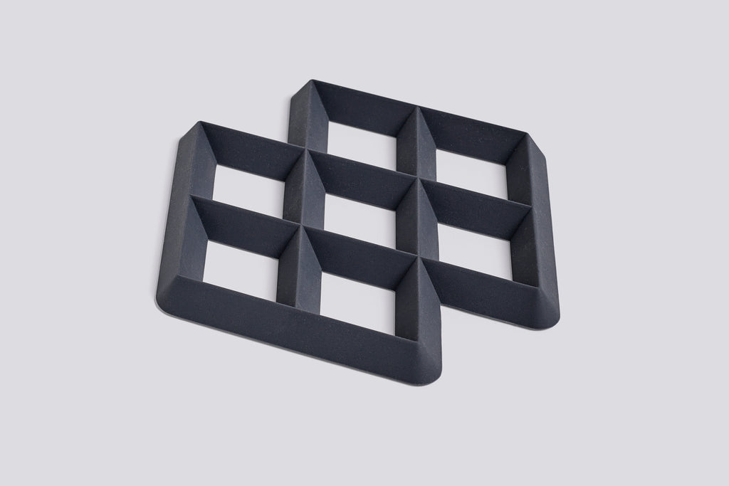Rhom Trivet in Charcoal by HAY