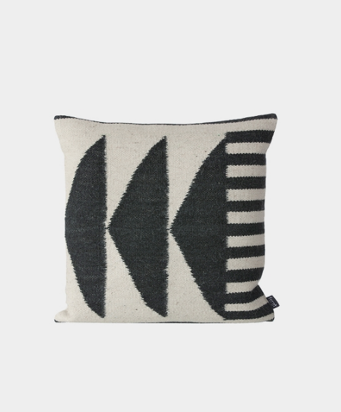 Kelim Cushion - Triangles by ferm LIVING