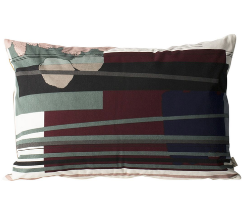 Colour Block Cushion Large '3' by ferm Living