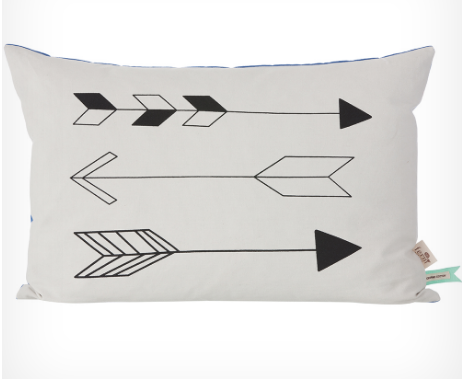 Native Arrow Cushion Large  by ferm Living