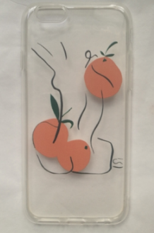Elise with Oranges iPhone 7/8 Case by James Wilson