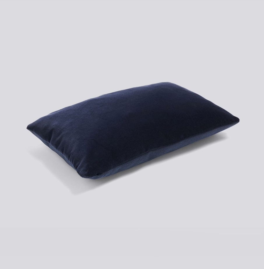 Eclectic cushion in soft navy - by HAY
