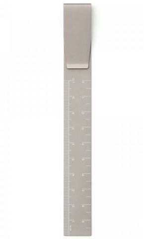 Clip Ruler in Grey by Hightide