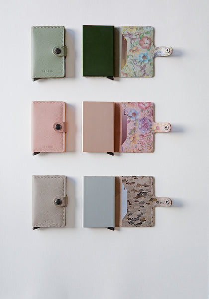 Miniwallet in Crisple Taupe Camo by Secrid Wallets