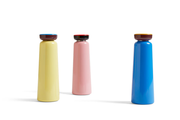Sowden Bottle in Light Pink - Hot or Cold drinks bottle - 350ml by HAY