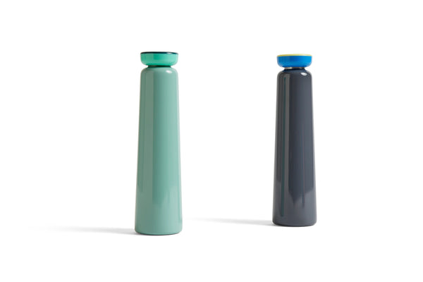 Sowden Bottle in Grey - Hot or Cold drinks bottle -500ml by HAY