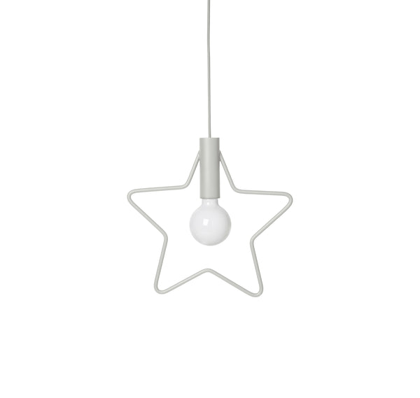 Star Pendant - light grey by ferm LIVING