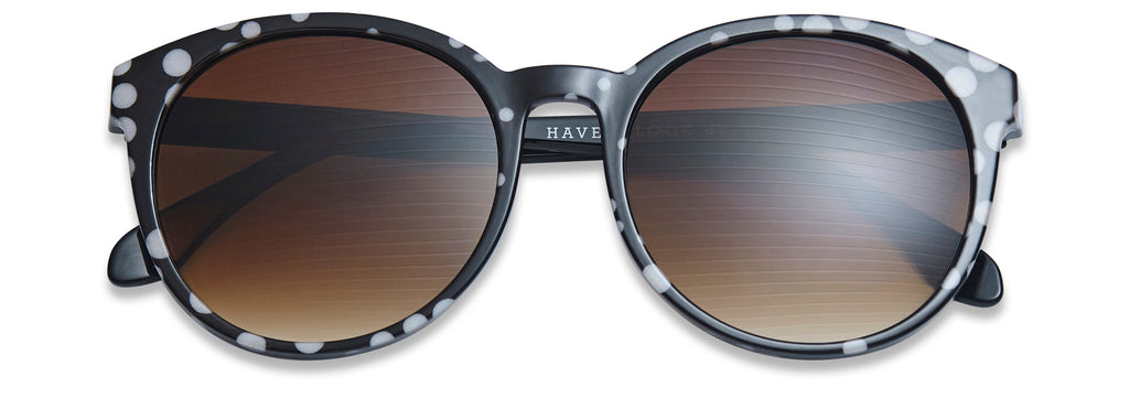 Diva sunglasses in Dot by Have A Look