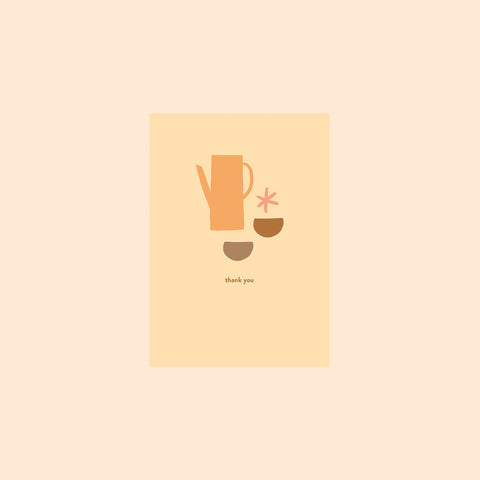 Thank You Coffee Card by Hattie Maud