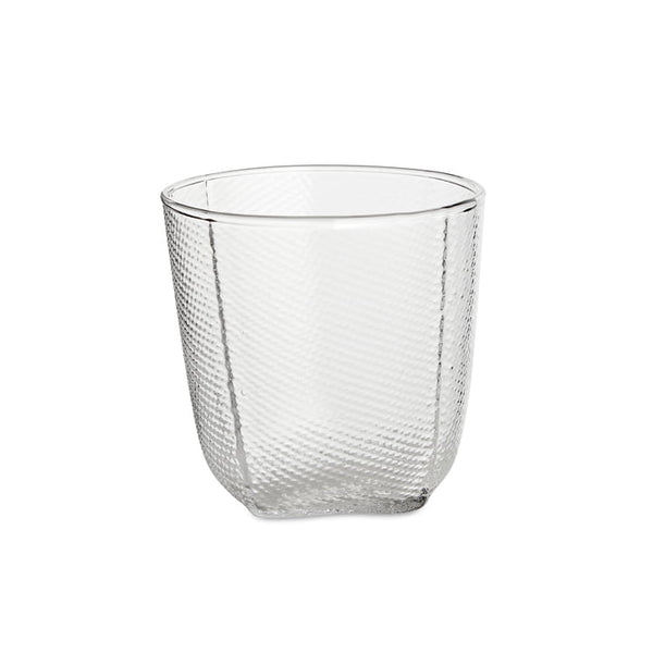 Small Tela Tumbler/Glass in Clear by Wrong for Hay