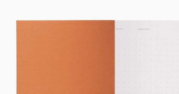 VITA Softcover Notebook - Small - Dot Grid - Bordeaux by Notem Studio