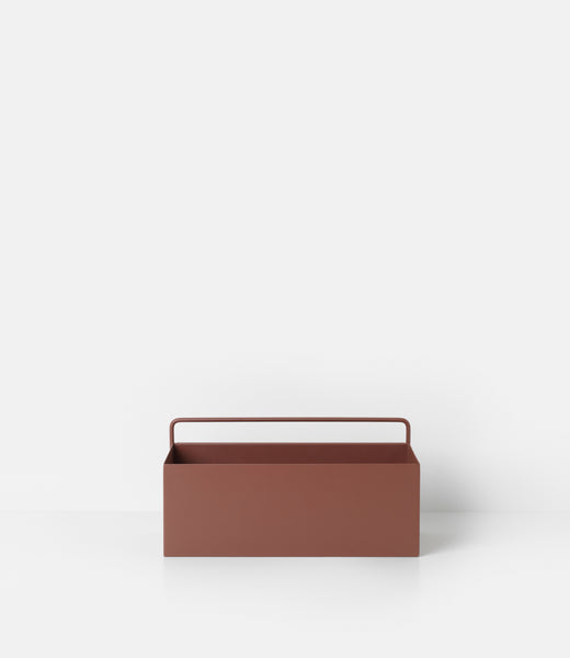 Wall box rectangle in red brown by ferm LIVING
