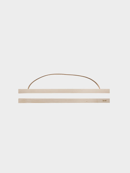 Large wooden frames in maple by ferm Living