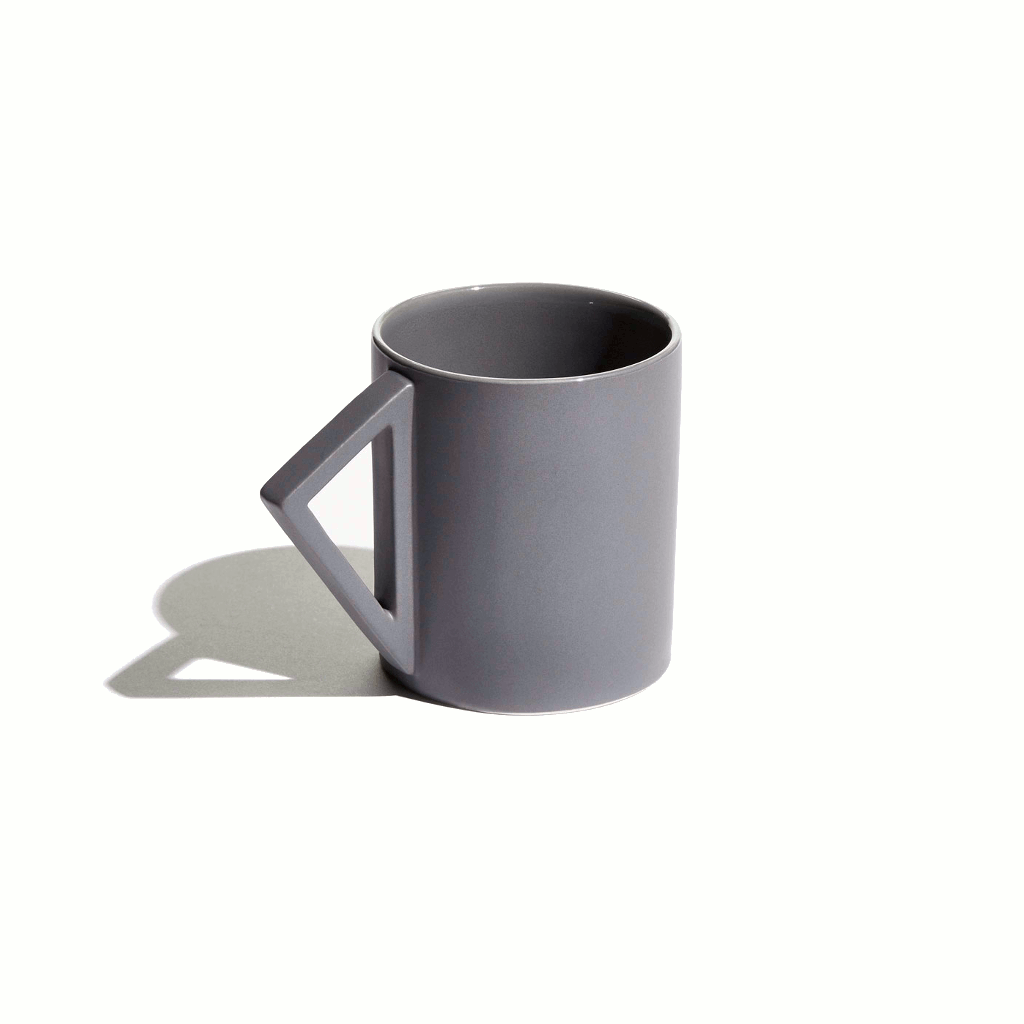 Grey Agnes mug by Aandersson