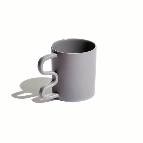 Annika grey mug by Aanderson
