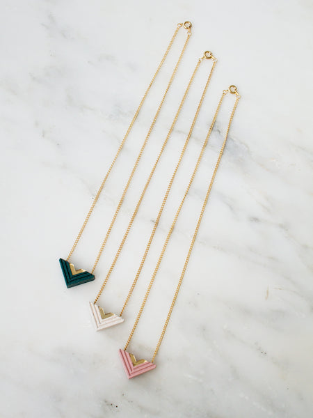 Arrow necklace by Wolf & Moon
