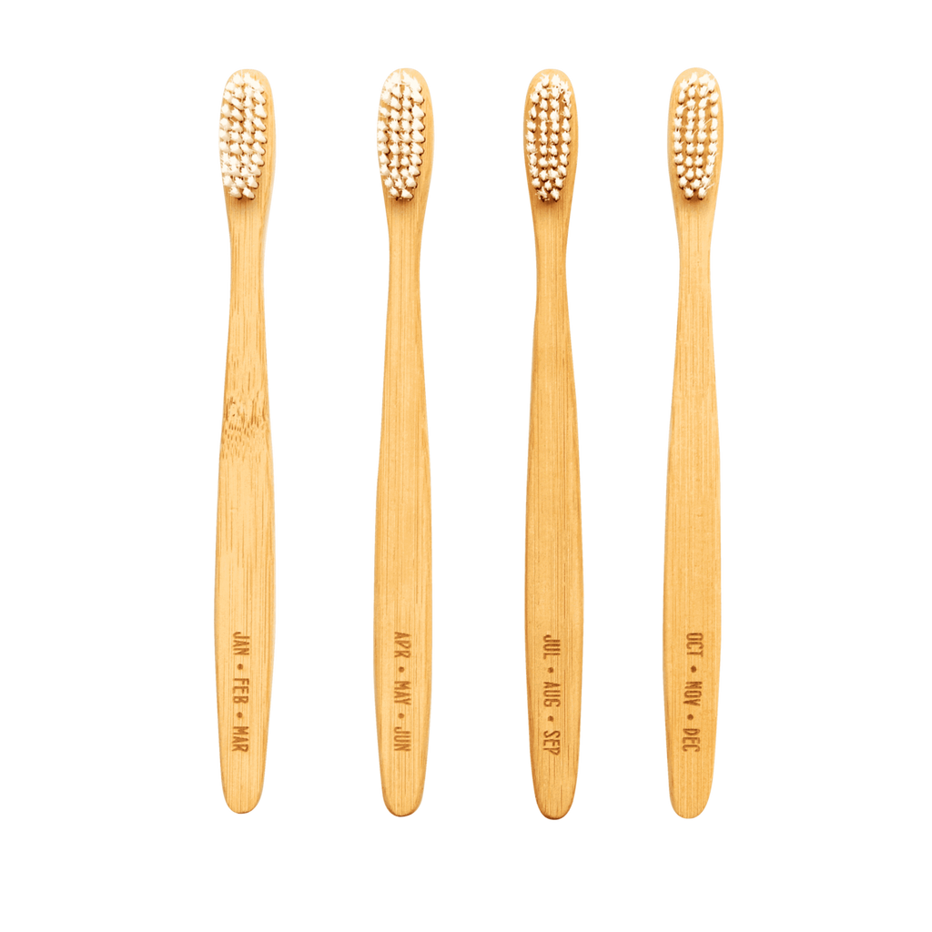 A Year's Supply of Sustainable Bamboo Toothbrushes by Izola