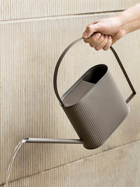 Bau Watering Can in Warm Grey by ferm Living