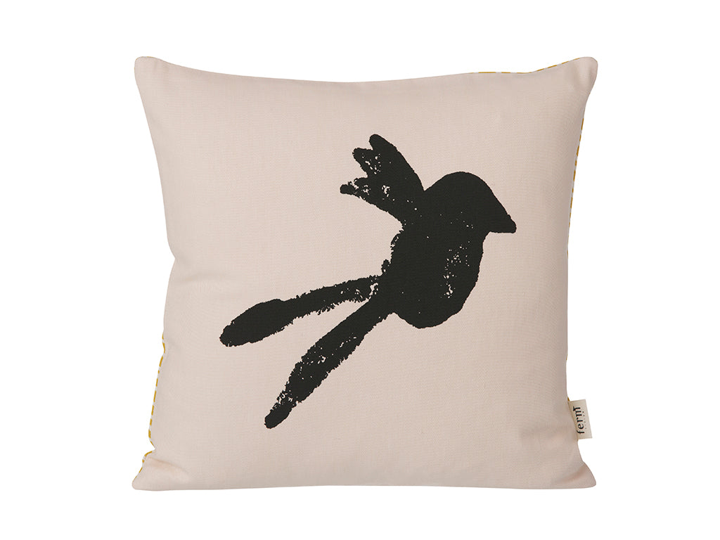 Bird Cushion in Rose by ferm LIVING