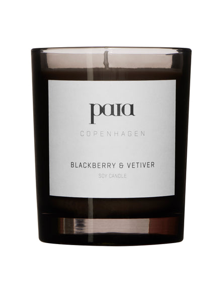 Blackberry & Vetiver Soy luxury candle 220g (Small) by Paia Copenhagen