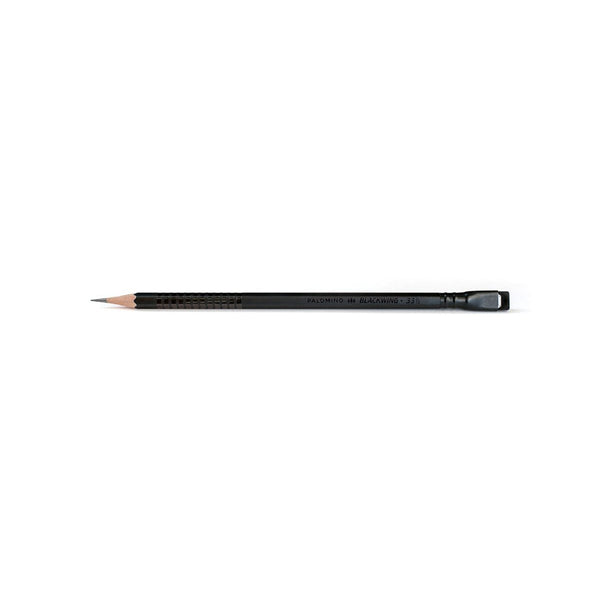 Blackwing Volumes 33 1/3 - Single black pencil with black eraser - by Blackwing
