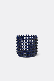 Medium Ceramic Basket  | Woven | by ferm LIVING