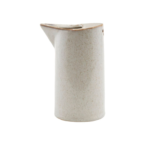Jug - Ivy - in sand colourway - by House Doctor