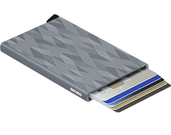 Cardprotector in Laser Zigzag Titanium by Secrid Wallets