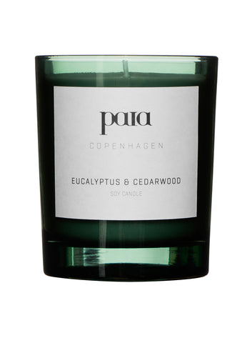 Eucalyptus & Cedarwood Soy luxury candle 220g (Small) by Paia Copenhagen