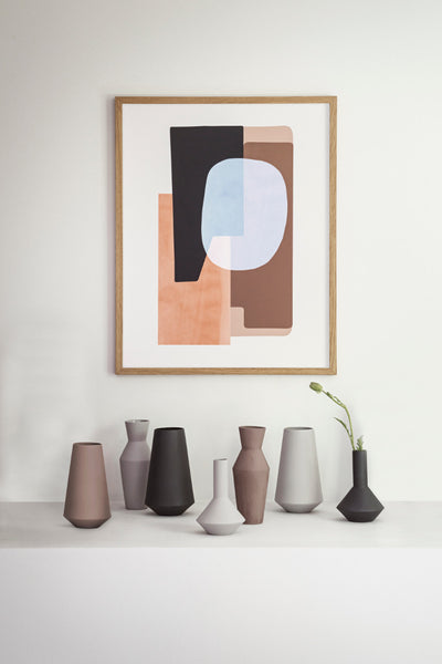 Context image of Sculpt vase by fermLIVING