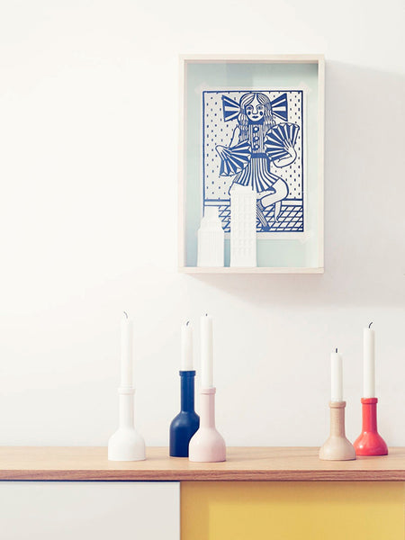 Bottle candle holders by Ferm Living
