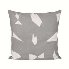 Cut cushion - Grey by ferm LIVING