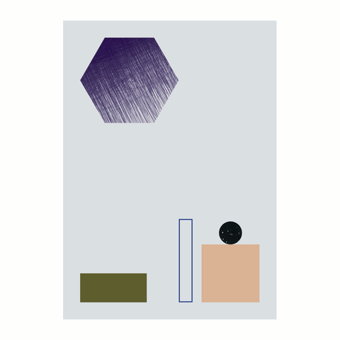 Geometry Poster/Print by ferm LIVING