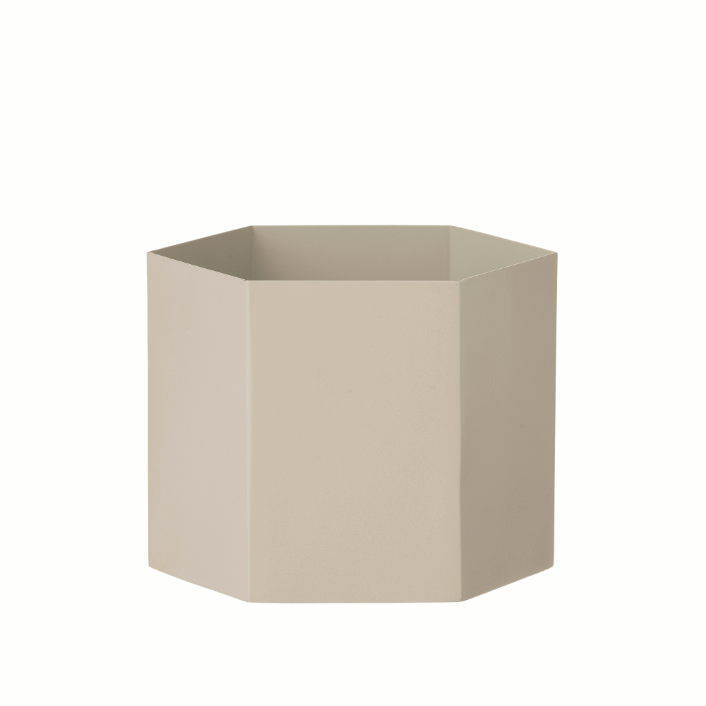 Product image of extra large grey planter by fermLIVING