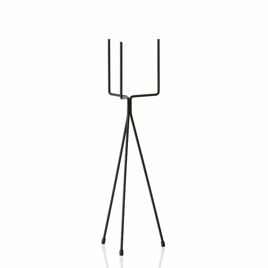 Plant stand small - black by ferm LIVING