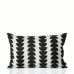 Semicircle cushion - black by ferm LIVING