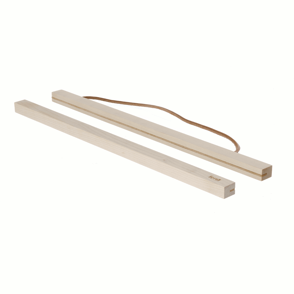 Product image of small wooden frame in maple by fermLIVING