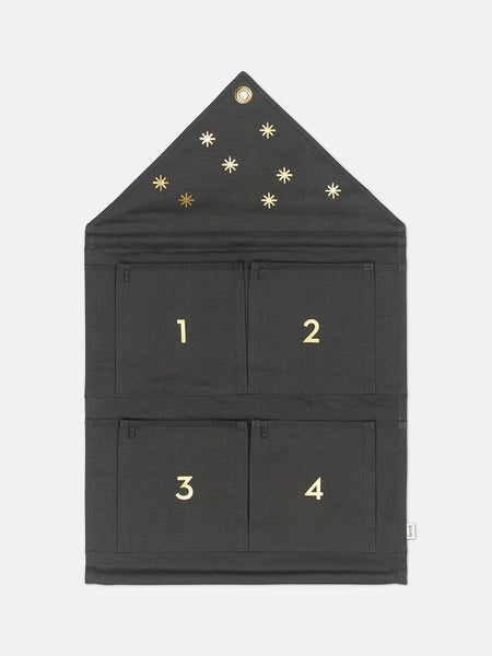 House Advent Calendar Green by ferm Living