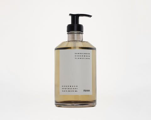 Frama Apothecary Hand Wash 375ml | Glass bottle | by Frama