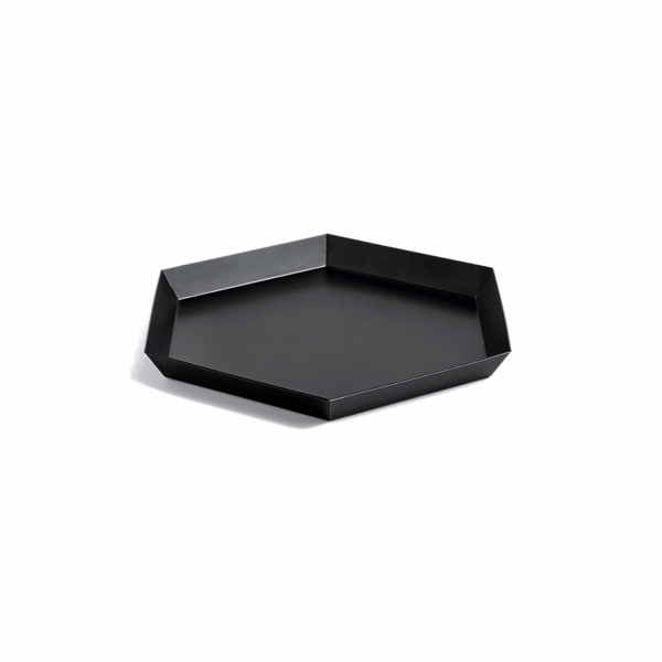 Product image of Kaleido tray small in black by Hay