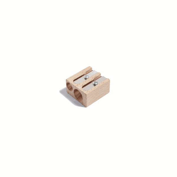 Point duo pencil sharpener by HAY
