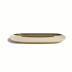 Tray Gold Large by HAY