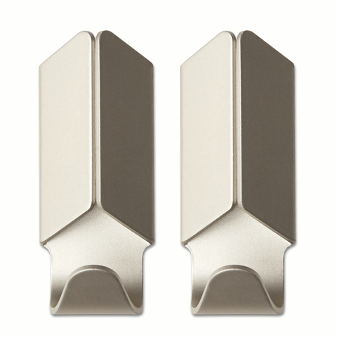 Volet Hook pair - Champagne by HAY
