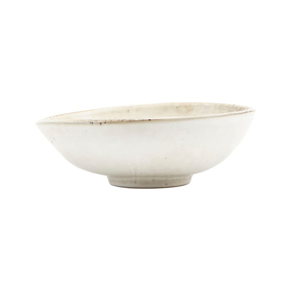 Bowl, Lake, Grey, 16.8x5.5cm by House Doctor