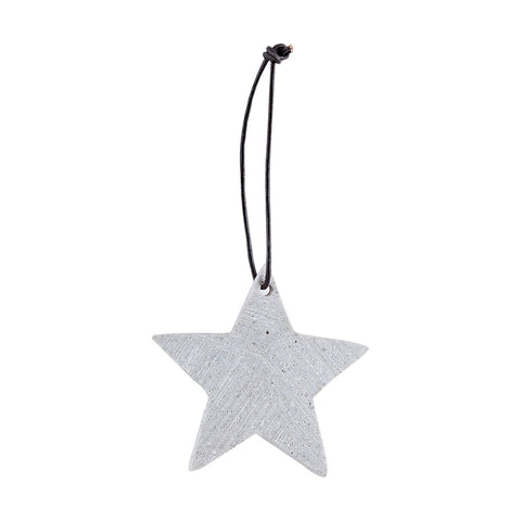 Concrete star decoration - Christmas by House Doctor